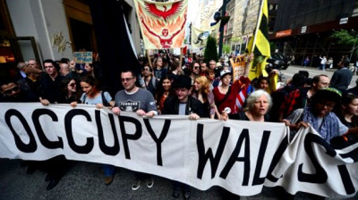 Occupy Wall Street anarchists in action as reported by teh FBI