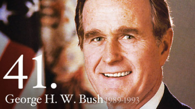 Click to learn more about President George H.W. Bush at his official web site