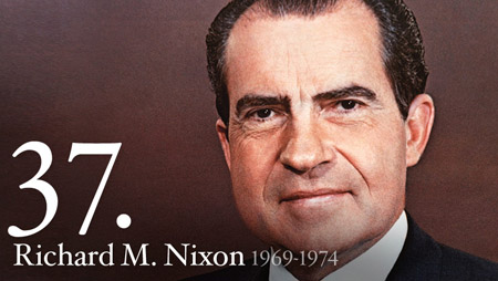 Click to learn more about President Richard M. Nixon at his official web site