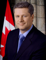 Click to visit and follow Stephen Harper on Twitter
