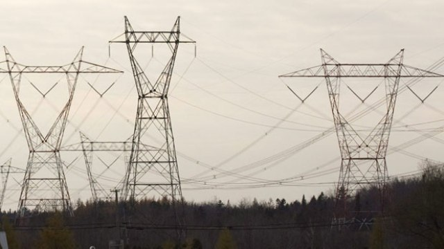 Electric lines to the U.S