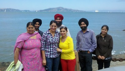 Kenn on Vacay with Sikh family who fear dictator Obama - Jun0713