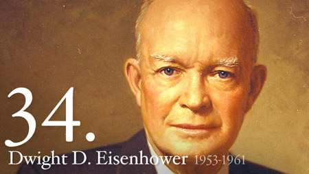 Click to learn more about President Dwight D Eisenhower at his official foundation