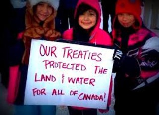 Treaties protect the land and water for all Canadians