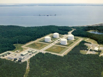 Click to learn about the need for energy policy - Dominion Energy facility courtesy AP