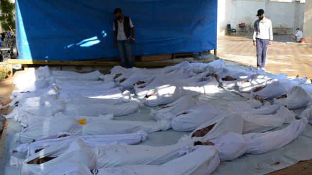 Syria War Chemical Weapons victims President Obama must consider