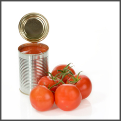 treated food cans