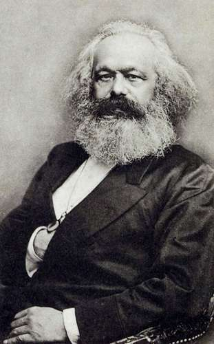 Click to learn about Karl Marx who invented the term Bourgeois