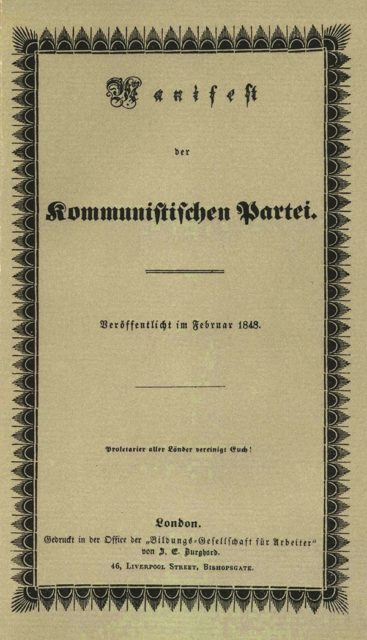 Click to learn about the Communist Manifesto