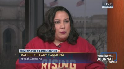 Click to watch Rachel Carmona C-SPAN Washington Journal interview