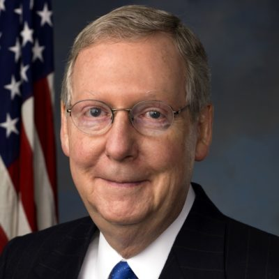 Click to visit and follow Mitch McConnell Twitter