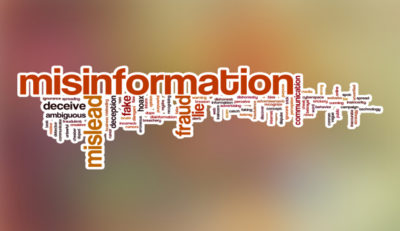 Click to learn the meaning of misinformation