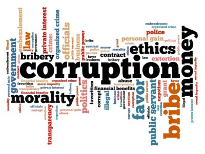 Click to learn about Corruption
