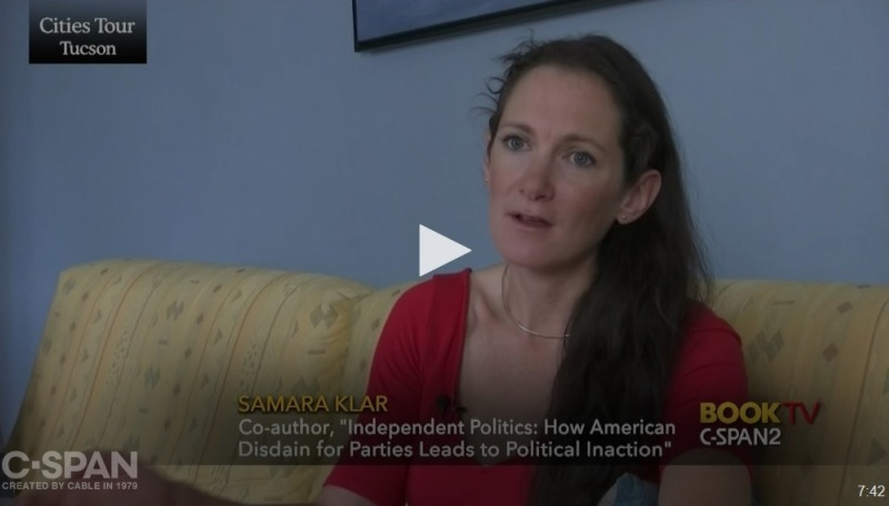 Click to learn about Independent Voters at C-SPAN2 BookTV