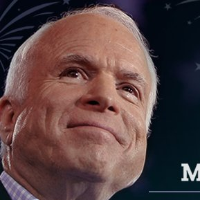 Click to visit and follow John McCain on Twitter