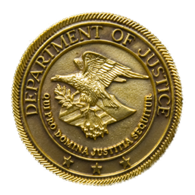 Click to visit and follow The Department of Justice on Twitter