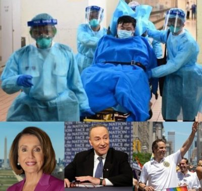 China Virus victims and those responsible USA