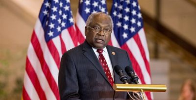 Representative James Clyburn Witch Hunter