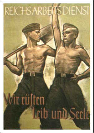 Nazi Propaganda poster, The Truth About Objective Journalism