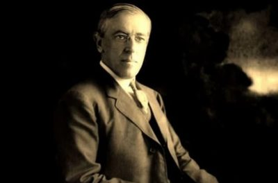 Click to learn about President Woodrow Wilson