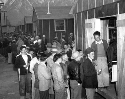 Click to learn about World War Two Japanese Internment Camps