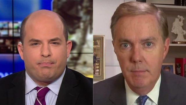 Brian Stelter and Steve Scully