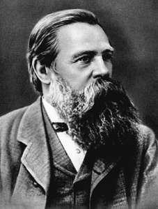 Friedrich Engels supporter of Karl Marx circa 1879