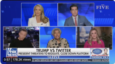Donna Brazile on The Five