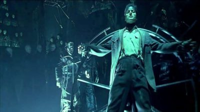 Dark City (1998) Starring Rufus Sewell, and Kiefer Sutherland