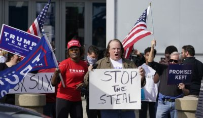 Stop the steal campaign dead people voted