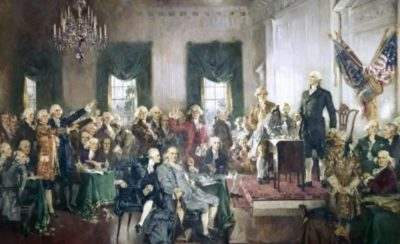 Electoral College created during the Great Compromise Image courtesy Getty Images